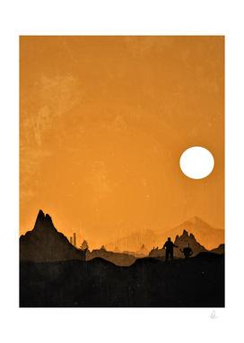 Borderlands Vintage Poster