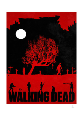 The Walking Dead Vintage Poster