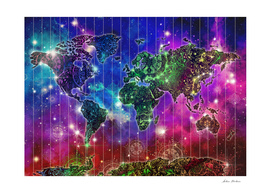 world map mandala space 2