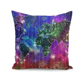 world map mandala space 2