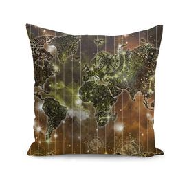 world map mandala space 3