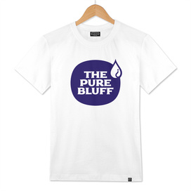 The Pure Bluff Logo (Blue) — APPAREL