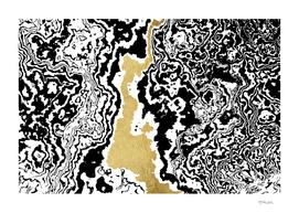 texture bw gold