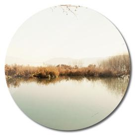 Autumn Lake Tranquility