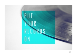 Records - Blue