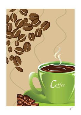 Coffee Poster 56 - Green Coffee
