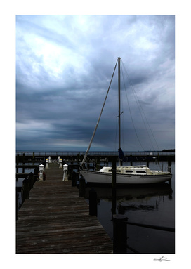 At Port in Edenton Bay