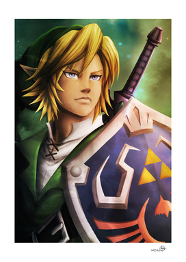 Link - the legend of Zelda Artwork