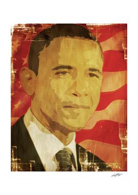 Barac Obama graphic Icon