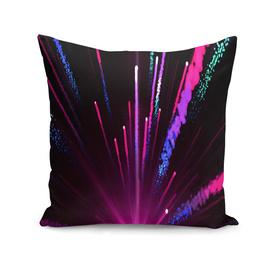 Happy New Year City Semmes fireworks rainbow red blue purple