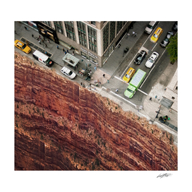intersection New York abyss