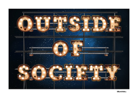 Outside of Society -  Wall-Art for Hotel-Rooms