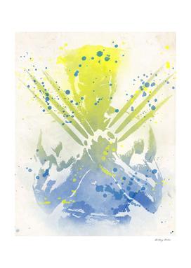 Wolverine Watercolor