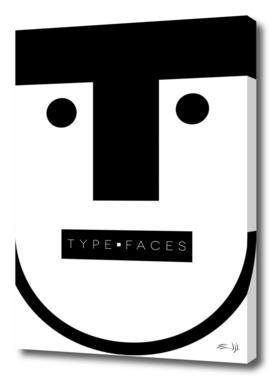 A - Type Faces Series