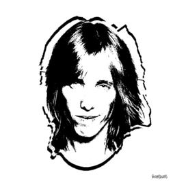 Tom Petty Stencil
