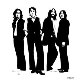the Beatles Stencil