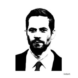 Paul Walker Stencil