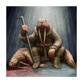 HUNTERS-walrus