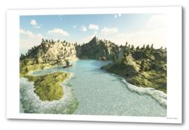 Island form dream