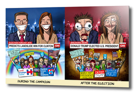 Election 2016 - Before and After