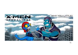 X-Men Apocalypse Simpsonized