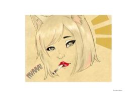 Manga - NYAAA . Fan art.