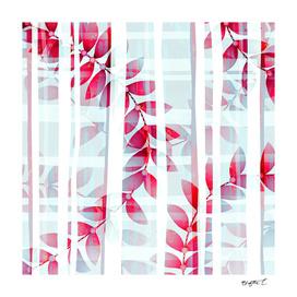 Abstract Foliage Pattern