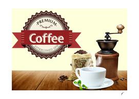 Coffee Poster 65 - Premium Logo