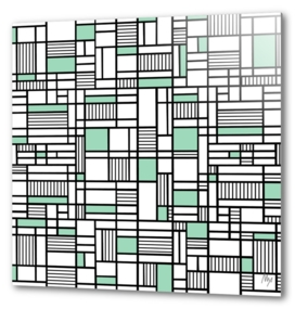 Map Lines Mint