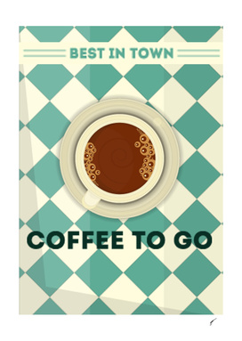 Coffee Poster 88 - Best in town