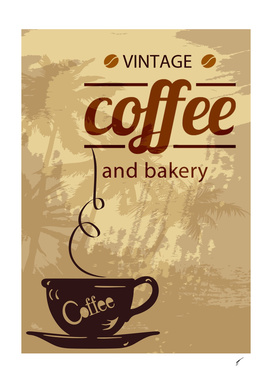Coffee Poster 100 - Vintage