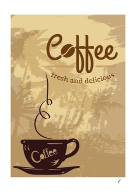 Coffee Poster 101 - Fresh