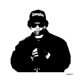 Eazy E Stencil