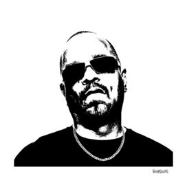 Ice T Stencil