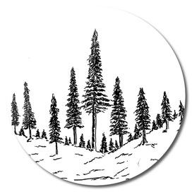 Sketch 54 - Mountain View