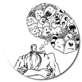 Sketch 56 - Overthinking