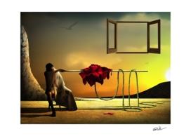 A Rosa Vermelha.