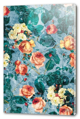 Floral and Marble Texture II