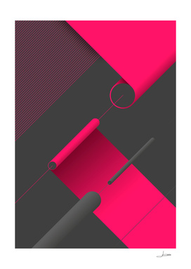 Abstract Geometric Composition 5