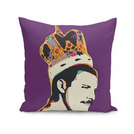 Freddie Mercury Pop Art vector Illustration