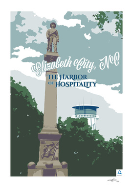 """Elizabeth City: Harbor of Hospitality """"The Soldier"""""""