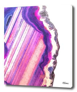 Druze Violet Agate