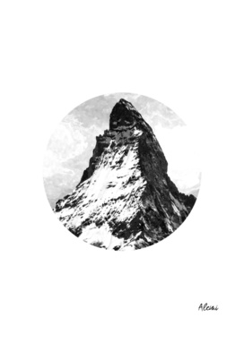 Circle Geometric Mountain