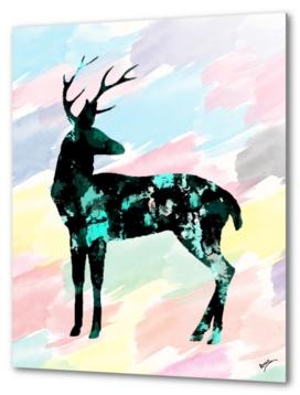 Abstract Deer