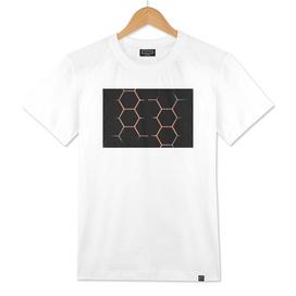 Honeycomb Lava black