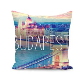 Budapest,  vintage poster