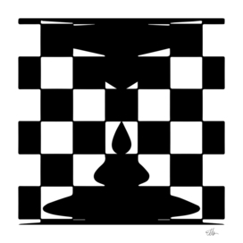 Chess and candle