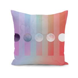 Rainbow Moon Gradient
