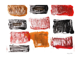 Licorice abstract watercolor