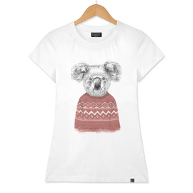 Winter koala (red)